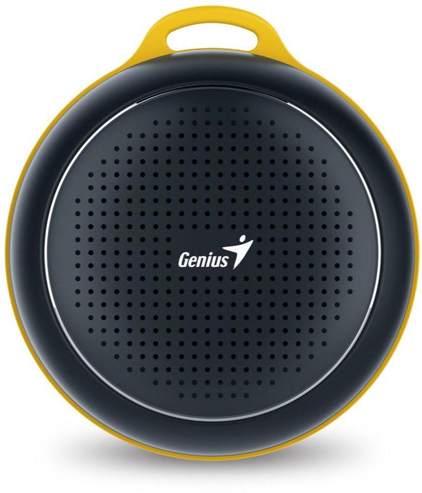Genius SP-906BT, Black портативная колонка31731072100Невероятная громкость и глубокие басы благодаря усовершенствованной конструкции. Колонка Genius SP-906BT дает заряд отличного настроения. Пять ярких цветовых исполнений. Размер примерно с хоккейную шайбу. Интеллектуальная технология непрерывного звука: чистые высокие и низкие частоты без пропусков. Технология пространственного звучания позволяет оказаться в центре происходящего. Благодаря встроенному усилителю громкий звук колонки SP-906BT проникает в самое сердце. Прочный и гладкий карабин для подвешивания выполнен из стали и алюминия. Он устойчив к ржавчине и рассчитан на долгую службу, а силиконовый ободок обеспечивает одновременно гибкость и прочность. Сочетание жесткости и мягкости, универсальная колонка Genius SP-906BT! Благодаря передовой защите цепей и технологии Bluetooth 4.1 соединение устанавливается еще быстрее (стандартное расстояние для беспроводной работы: 10 м). Колонка SP-906BT поддерживает все продукты с технологией...