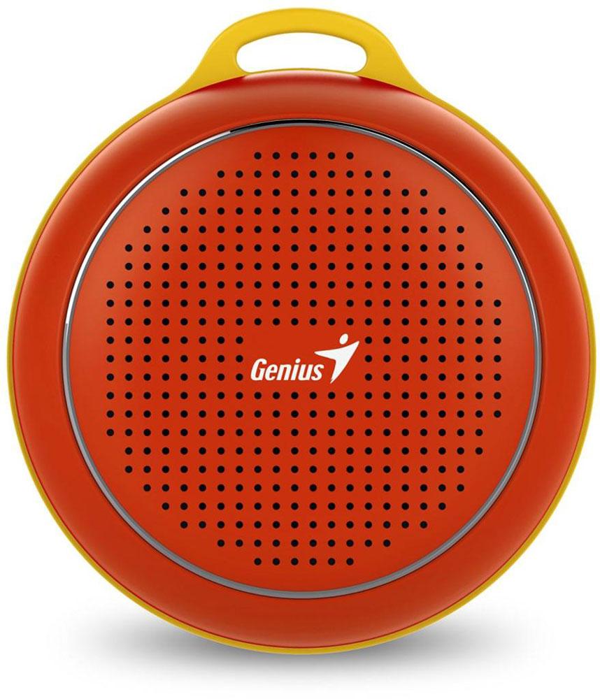 Genius SP-906BT, Red портативная колонка31731072104Невероятная громкость и глубокие басы благодаря усовершенствованной конструкции. Колонка Genius SP-906BT дает заряд отличного настроения. Пять ярких цветовых исполнений. Размер примерно с хоккейную шайбу. Интеллектуальная технология непрерывного звука: чистые высокие и низкие частоты без пропусков. Технология пространственного звучания позволяет оказаться в центре происходящего. Благодаря встроенному усилителю громкий звук колонки SP-906BT проникает в самое сердце. Прочный и гладкий карабин для подвешивания выполнен из стали и алюминия. Он устойчив к ржавчине и рассчитан на долгую службу, а силиконовый ободок обеспечивает одновременно гибкость и прочность. Сочетание жесткости и мягкости, универсальная колонка Genius SP-906BT! Благодаря передовой защите цепей и технологии Bluetooth 4.1 соединение устанавливается еще быстрее (стандартное расстояние для беспроводной работы: 10 м). Колонка SP-906BT поддерживает все продукты с технологией...