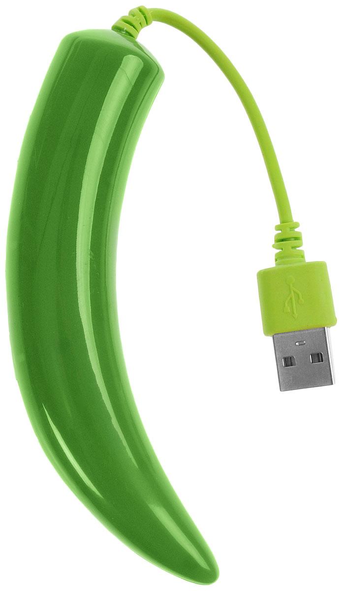 Bradex SU 0044 Перчик, Green разветвительSU 0044Хотите повысить продуктивность своей работы за компьютером? В этом вам поможет необычный и функциональный разветвитель Bradex SU 0043 Перчик. Проблема нехватки USB-портов с этим устройством остается в прошлом! С помощью разветвителя к одному источнику (компьютеру, ноутбуку, планшету и сетевому переходнику) можно подключить сразу 4 устройства: как для работы с ними, так и для подзарядки. Это особенно удобно в поездках. - Разветвитель обладает высокой скоростью передачи данных (до 480Мб/с) и не приводит к зависанию компьютера, даже если вы подключите к ПК несколько девайсов одновременно. Яркий и стильный дизайн разветвителя улучшит настроение, а компактный дизайн поможет вам упорядочить рабочее место. Благодаря технологии Plug & Play, для устройства не требуется установка драйверов. Приспособление также защищено от короткого замыкания.