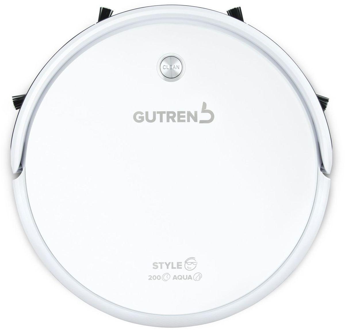 Gutrend Style 200 Aqua, White робот-пылесос