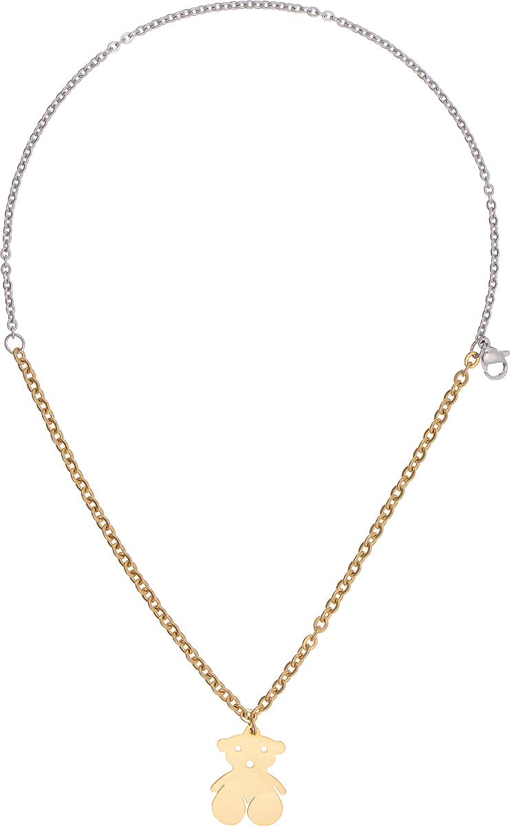 Браслет Bradex Мишутка, цвет: серебряный, золотой. AS 0026Браслет с подвескамиБраслет Bradex Мишутка выполнен из металлического сплава и представляет собой двойную цепочку. Декоративный элемент выполнен в виде мишки. Изделие застегивается на замок-карабин.