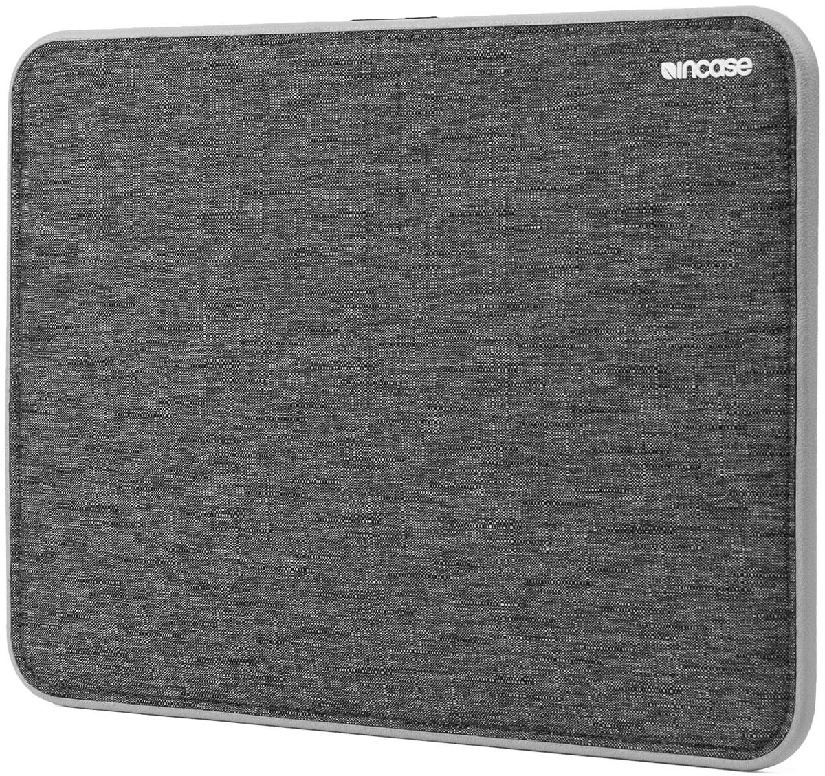 Incase Icon Sleeve чехол для Apple MacBook Air 11, Heather Black GrayCL60636Чехол Incase Icon Sleeve для MacBook оснащается лёгкой рамой-бампером из ЭВА и использует современную технологию Tensaerlite для максимальной защиты от ударов. Магнитная застёжка чехла дополнительно защищает MacBook, при этом обеспечивая удобный доступ к нему.