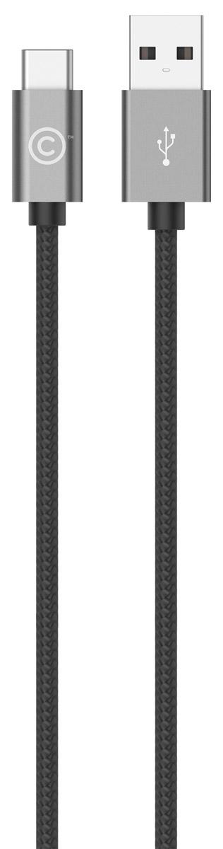 LAB.C USB-C to USB Cable A.L, Space Grey USB-кабель (1,2 м)LABC-560-GYКабель LAB.C USB-C to USB Cable A.L предназначен для зарядки и синхронизации устройств с коннектором USB-C. Отличительной особенностью данного кабеля является его тканевое покрытие, придающее больше надежности и прочности даже при активной эксплуатации. Коннекторы выполнены из алюминия премиального качества и отличаются высокой скоростью передачи данных.