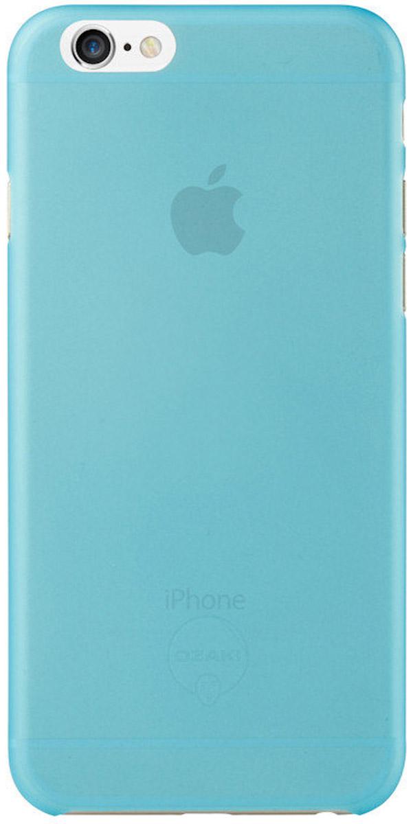 Ozaki O!coat 0.3 Jelly Case чехол для iPhone 6, BlueOC555BUЧехол Ozaki O!coat 0.3 Jelly Case для Apple iPhone 6/6S предназначен для защиты корпуса смартфона от механических повреждений и царапин в процессе эксплуатации. Имеется свободный доступ ко всем разъемам и кнопкам устройства. Толщина чехла составляет 0,3 мм.