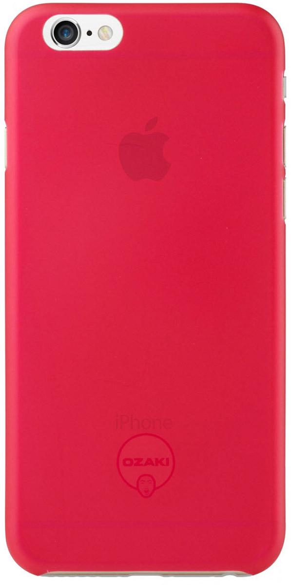 Ozaki O!coat 0.3 Jelly Case чехол для iPhone 6, PinkOC555PKЧехол Ozaki O!coat 0.3 Jelly Case для Apple iPhone 6/6S предназначен для защиты корпуса смартфона от механических повреждений и царапин в процессе эксплуатации. Имеется свободный доступ ко всем разъемам и кнопкам устройства. Толщина чехла составляет 0,3 мм.
