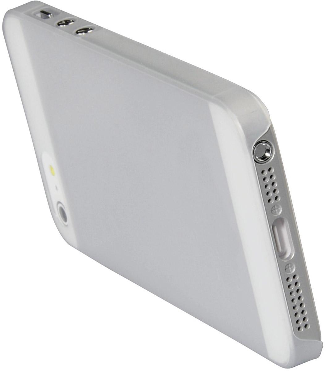 Ozaki O!coat 0.3 Jelly чехол для Apple iPhone 5/5s, TransparentOC533TRЧехол Ozaki O!coat 0.3 Jelly Case для Apple iPhone 5/5s предназначен для защиты корпуса смартфона от механических повреждений и царапин в процессе эксплуатации. Имеется свободный доступ ко всем разъемам и кнопкам устройства. Толщина чехла составляет 0,3 мм.