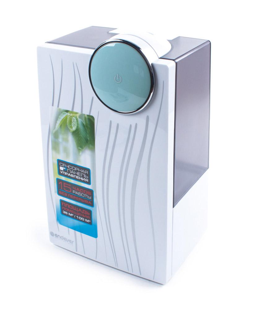 Endever Oasis-210 увлажнитель воздуха ультразвуковойOasis 210Увлажнитель воздуха Endever Oasis-210 представляет собой одно из самых современных на сегодняшний день ультразвуковых устройств, позволяющее быстро и эффективно повысить содержание водяного пара в помещении. Он качественно увлажняет, очищает и озонирует воздух, поддерживает необходимый уровень влажности, тем самым формирует наиболее благоприятную и комфортную для человека среду обитания. Самочувствие человека зависит не только от вешних факторов и экологии, но и от того микроклимата, который царит в доме, квартире и других местах, где он проводит большую часть своего времени. Огромную роль в создании оптимального и здорового микроклимата играет уровень влажности и чистоты воздуха в помещении. Если дома постоянно пересыхает горло, кожа, волосы, появляется кашель, бессонница, аллергические реакции, часто болеют дети, несмотря на обильный полив, часто пересыхают домашние растения, растрескивается деревянная мебель и полы, то, возможно, основной причиной этого является...