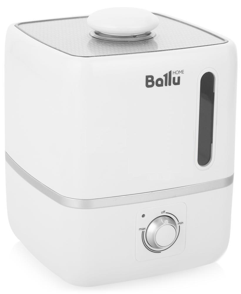 Ballu UHB-310 ультразвуковой увлажнитель воздухаНС-1091330Ультразвуковой увлажнитель воздуха Ballu UHB-310 создает мягкое увлажнение и обеспечивает благоприятный микроклимат в доме. Плавные формы, удобное и интуитивно понятное управление позволяют пользоваться прибором людям всех возрастов.Капсула для ароматических масел поможет наполнить комнату любимым ароматом. Правильная влажность в комнате и ароматерапия благоприятно влияют на самочувствие и сон человека. Прибор прост и удобен в эксплуатации- для увлажнения можно заливать водопроводную воду. Благодаря входящему в комплект фильтру-картриджу, вода очищается от излишков солей жесткости. Противоскользящие резиновые ножки препятствуют скольжению прибора и предохраняют поверхности от повреждений.Фильтр предварительной очистки воздуха очищает воздух от крупных фрагментов пыли и защищает внутренности прибора от загрязнения. Распылитель 360° Фильтр-картридж в комплекте Индикация низкого уровня воды Капсула для ароматических масел Фильтр предварительной...