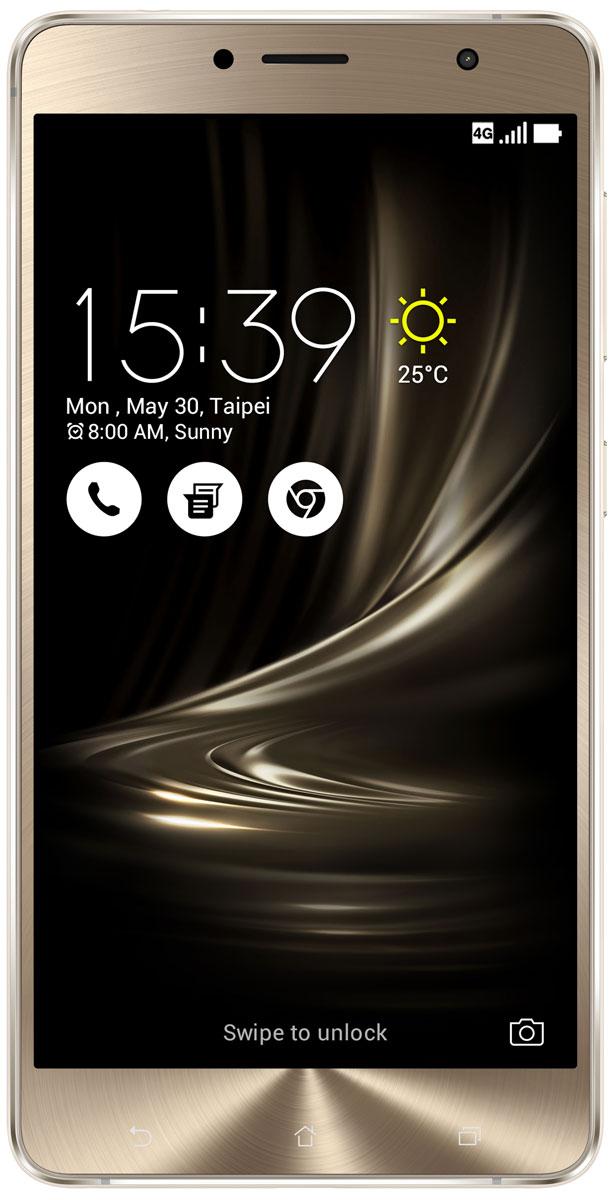 ASUS ZenFone 3 Deluxe ZS550KL, Silver (90AZ01F4-M00100)90AZ01F4-M00100Asus ZenFone 3 Deluxe ZS550KL - великолепный смартфон, в котором безупречное качество изготовления и техническое совершенство приводят к рождению уникальной формы – тонкого цельнометаллического корпуса без каких-либо пластиковых вставок для антенн.ZenFone 3 Deluxe – это чудо современных технологий, которое рождается в результате сложного производственного процесса, включающего в себя 240 этапов. Прецизионная фрезеровка заготовки для получения прочного и при этом тонкого корпуса, полировка металлической рамки методом пескоструйной обработки – каждый этап представляет собой еще один шаг на пути к техническому совершенству, которым является новый смартфон Asus.Все, что вы увидите на 5,5-дюймовом экране смартфона ZenFone 3 Deluxe, будет таким же реалистичным, как сама реальность. Он обладает высоким разрешением Full-HD (1920x1080 пикселей), потрясающей контрастностью (3 000 000:1) и расширенным цветовым охватом (более 100% цветового пространства NTSC) – и все это дополнено интеллектуальными алгоритмами обработки изображения (технология ASUS Tru2Life). Благодаря очень тонкой рамке (всего 1,3 мм), размер дисплея составляет целых 79% от размера всей передней панели устройства, а функция работы в спящем режиме позволяет выводить на экран важную информацию при минимальном энергопотреблении.В Asus ZenFone 3 Deluxe ZS550KL применяется высокопроизводительный процессор Qualcomm Snapdragon 625, изготовленный по современнейшей технологии 14 нм. Потребляя меньше электроэнергии, этот чип обеспечивает более высокую скорость работы приложений.Расположенный на задней панели сканер отпечатка пальца служит не только для моментальной разблокировки смартфона, но и поддерживает несколько других полезных функций.Модель оснащается 16-мегапиксельным сенсором, светосильным объективом f/2.0 и системой тройной следящей автофокусировки TriTech с быстродействием от 0,03 с. Если добавить к этому высокоэффективную систему оптическо