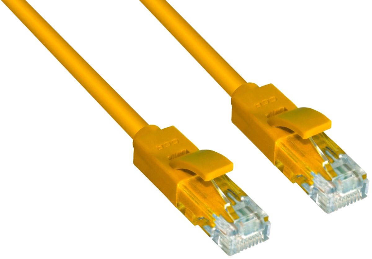 Greenconnect Russia GCR-LNC602, Yellow патч-корд (3 м)GCR-LNC602-3.0mВысокотехнологичный современный патч-корд Greenconnect Russia GCR-LNC602 используется для подключения к интернету на высокой скорости. Подходит для подключения персональных компьютеров или ноутбуков, медиаплееров или игровых консолей PS4 / Xbox One, а также другой техники и устройств, у которых есть стандартный разъем подключения кабеля для интернета LAN RJ-45. Идеален в сочетании с 10, 100 и 1000 Base-T сетями.