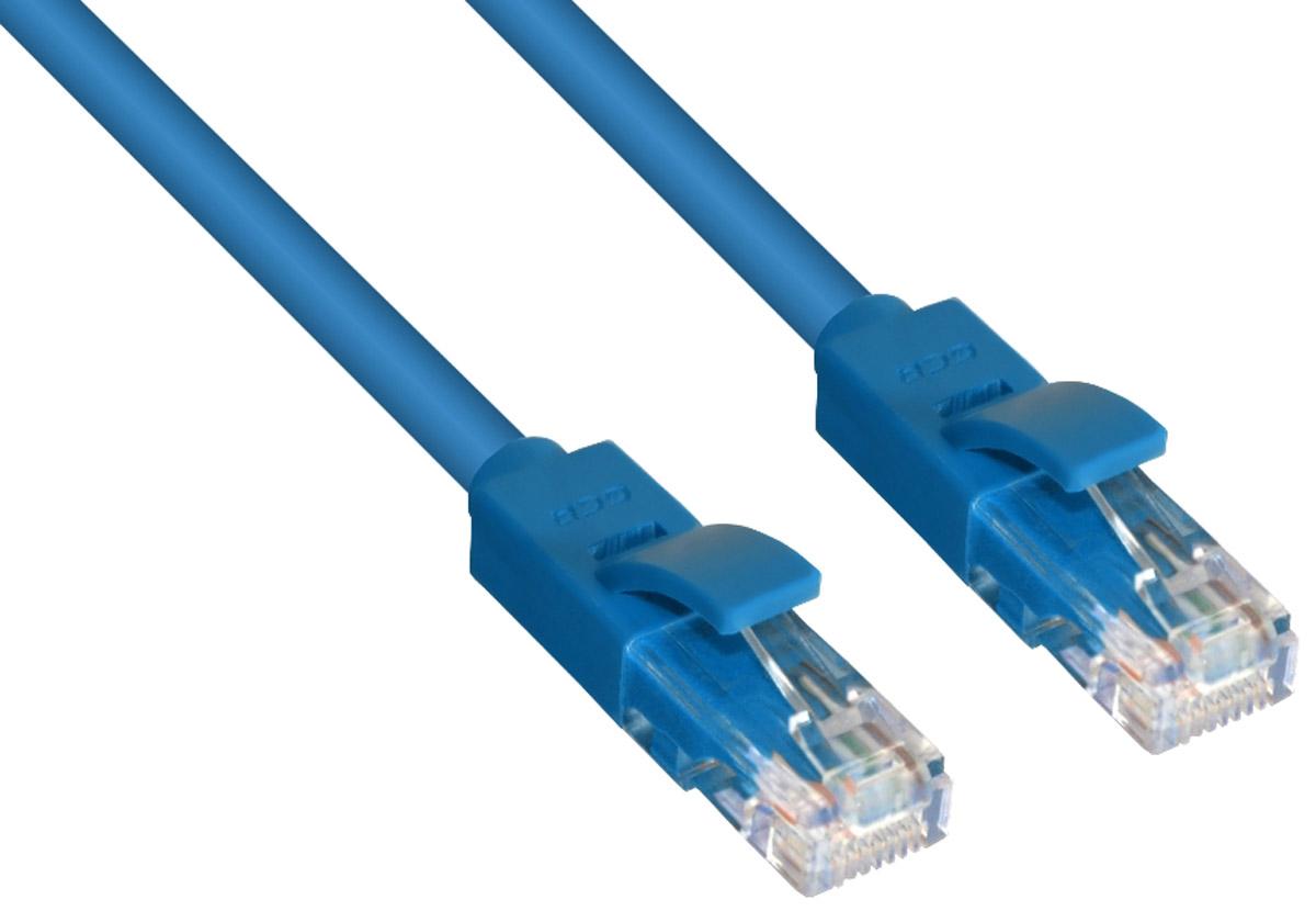 Greenconnect Russia GCR-LNC601, Blue патч-корд (2 м)GCR-LNC601-2.0mВысокотехнологичный современный патч-корд Greenconnect Russia GCR-LNC601 используется для подключения к интернету на высокой скорости. Подходит для подключения персональных компьютеров или ноутбуков, медиаплееров или игровых консолей PS4 / Xbox One, а также другой техники и устройств, у которых есть стандартный разъем подключения кабеля для интернета LAN RJ-45. Идеален в сочетании с 10, 100 и 1000 Base-T сетями.