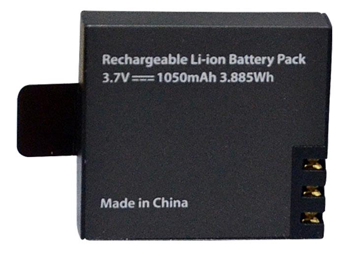 Eken BAT1050 аккумулятор литиевый для экшн-камерBAT1050Если вы запланировали длительную фотосессию, но забыли зарядить камеру или действующая батарея разрядилась в самый важный момент, аккумулятор Eken BAT1050 тотчас же исправит ситуацию. Используйте его не только для замены, но и в качестве запасного. Создавайте насыщенные, яркие фото и видеокадры и будьте уверены, что в случае необходимости аккумулятор Eken BAT1050 продлит жизнь вашей камеры и выручит вас в любой ситуации.