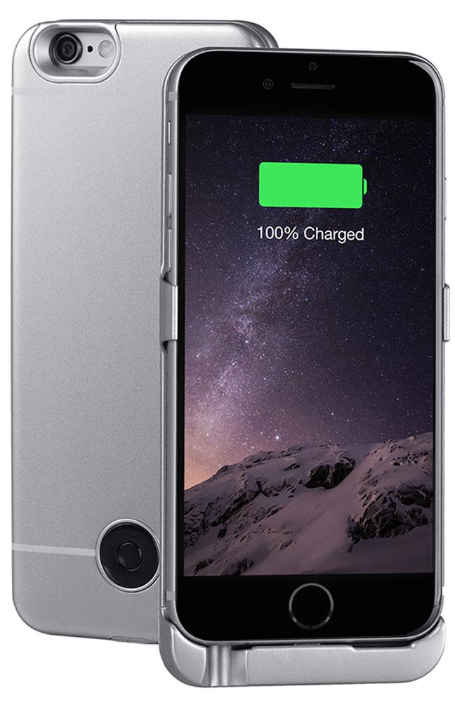 Interstep чехол-аккумулятор для Apple iPhone 6/6s, Space Gray (3000 мАч)40370Чехол-аккумулятор Interstep - стильный и надежный аксессуар для Apple iPhone 6/6s толщиной всего в 5 мм. Компактные размеры, элегантный дизайн и прочный материал корпуса позволят Interstep не только надежно защитить смартфон от ударов, грязи и царапин, но придадут телефону стильный внешний вид. Встроенный аккумулятор емкостью в 3000 мАч обеспечит смартфон своевременной подзарядкой в самые нужные моменты его использования. Заряжать телефон можно, не извлекая его из чехла, просто подключив адаптер смартфона к чехлу- аккумулятору. Чехол-аккумулятор Interstep поддерживает функцию сквозного заряда. Ставим iPhone в клипкейсе на заряд на ночь - с утра получаем оба устройства заряженными!