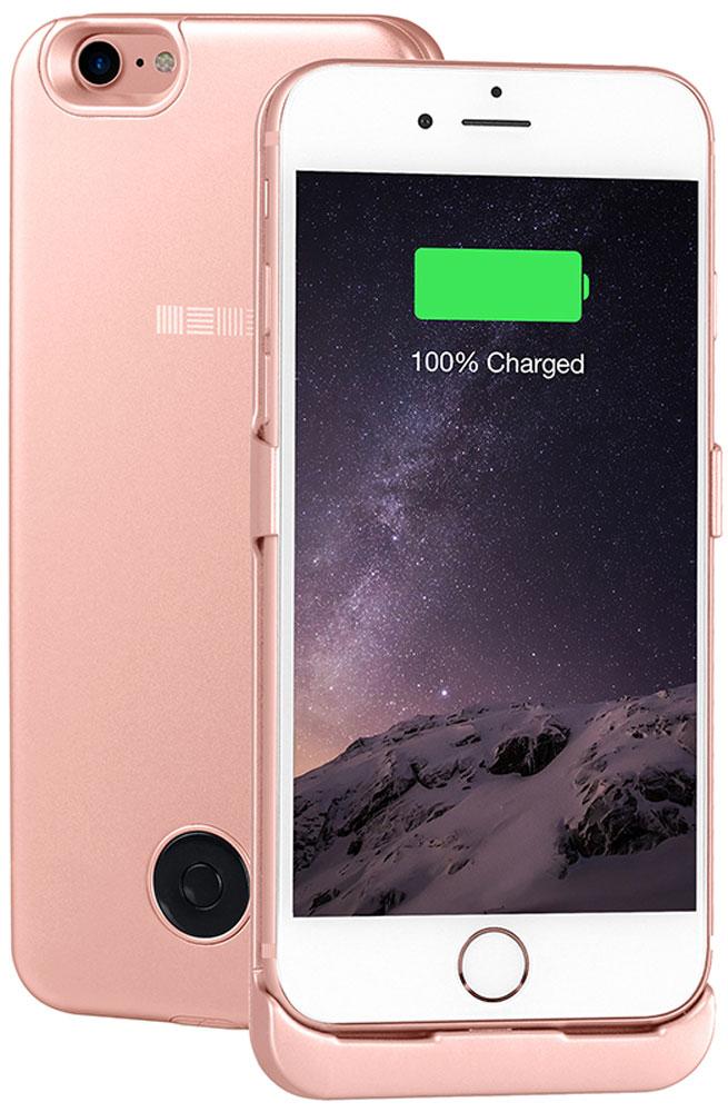 Interstep чехол-аккумулятор для Apple iPhone 7, Rose (3000 мАч)47655Чехол-аккумулятор Interstep - стильный и надежный аксессуар для Apple iPhone 7 толщиной всего в 5 мм. Компактные размеры, элегантный дизайн и прочный материал корпуса позволят Interstep не только надежно защитить смартфон от ударов, грязи и царапин, но придадут телефону стильный внешний вид. Встроенный аккумулятор емкостью в 3000 мАч обеспечит смартфон своевременной подзарядкой в самые нужные моменты его использования. Заряжать телефон можно, не извлекая его из чехла, просто подключив адаптер смартфона к чехлу-аккумулятору. Чехол-аккумулятор Interstep поддерживает функцию сквозного заряда. Ставим iPhone в клипкейсе на заряд на ночь - с утра получаем оба устройства заряженными!