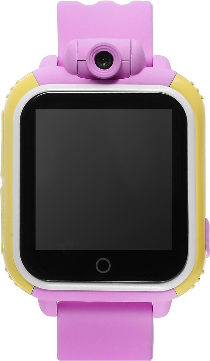 TipTop 1000ЦСФ, Pink детские часы-телефон00131Детские умные часы-телефон TipTop 1000ЦСФ с GPS-трекером созданы специально для детей и их родителей. С ними вы всегда будете знать, где находится ваш ребенок и что рядом с ним происходит. Управление часами происходит полностью через мобильное приложение, которое можно бесплатно скачать на AppStore или PlayMarket. Отличительная особенность данной модели - это возможность получать фото и видео с часов на смартфон родителя! Ребёнок может сам сделать фото или записать видео на часы и отправить родителям селфи, а также родители могут незаметно для ребенка запрашивать фото с часов через приложение в режиме онлайн! Основные функции: Родители с помощью мобильного приложения всегда видят на карте, где находится их ребенок В часы вставляется сим-карта. Родители всегда могут позвонить на часы, также ребенок может позвонить с часов на 3 самых важных номера - мама, папа, бабушка. Также можно разрешать или запрещать номерам звонить...