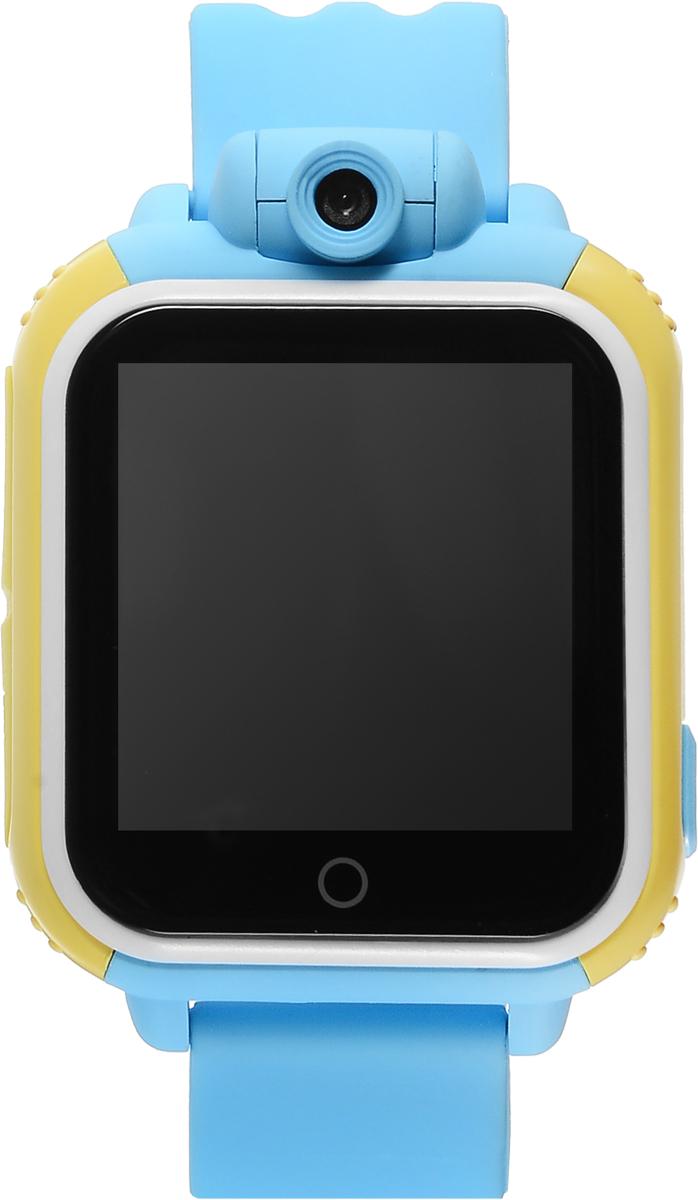 TipTop 1000ЦСФ, Light Blue детские часы-телефон00132Детские умные часы-телефон TipTop 1000ЦСФ с GPS-трекером созданы специально для детей и их родителей. С ними вы всегда будете знать, где находится ваш ребенок и что рядом с ним происходит. Управление часами происходит полностью через мобильное приложение, которое можно бесплатно скачать на AppStore или PlayMarket. Отличительная особенность данной модели - это возможность получать фото и видео с часов на смартфон родителя! Ребёнок может сам сделать фото или записать видео на часы и отправить родителям селфи, а также родители могут незаметно для ребенка запрашивать фото с часов через приложение в режиме онлайн! Основные функции: Родители с помощью мобильного приложения всегда видят на карте, где находится их ребенок В часы вставляется сим-карта. Родители всегда могут позвонить на часы, также ребенок может позвонить с часов на 3 самых важных номера - мама, папа, бабушка. Также можно разрешать или запрещать номерам звонить...