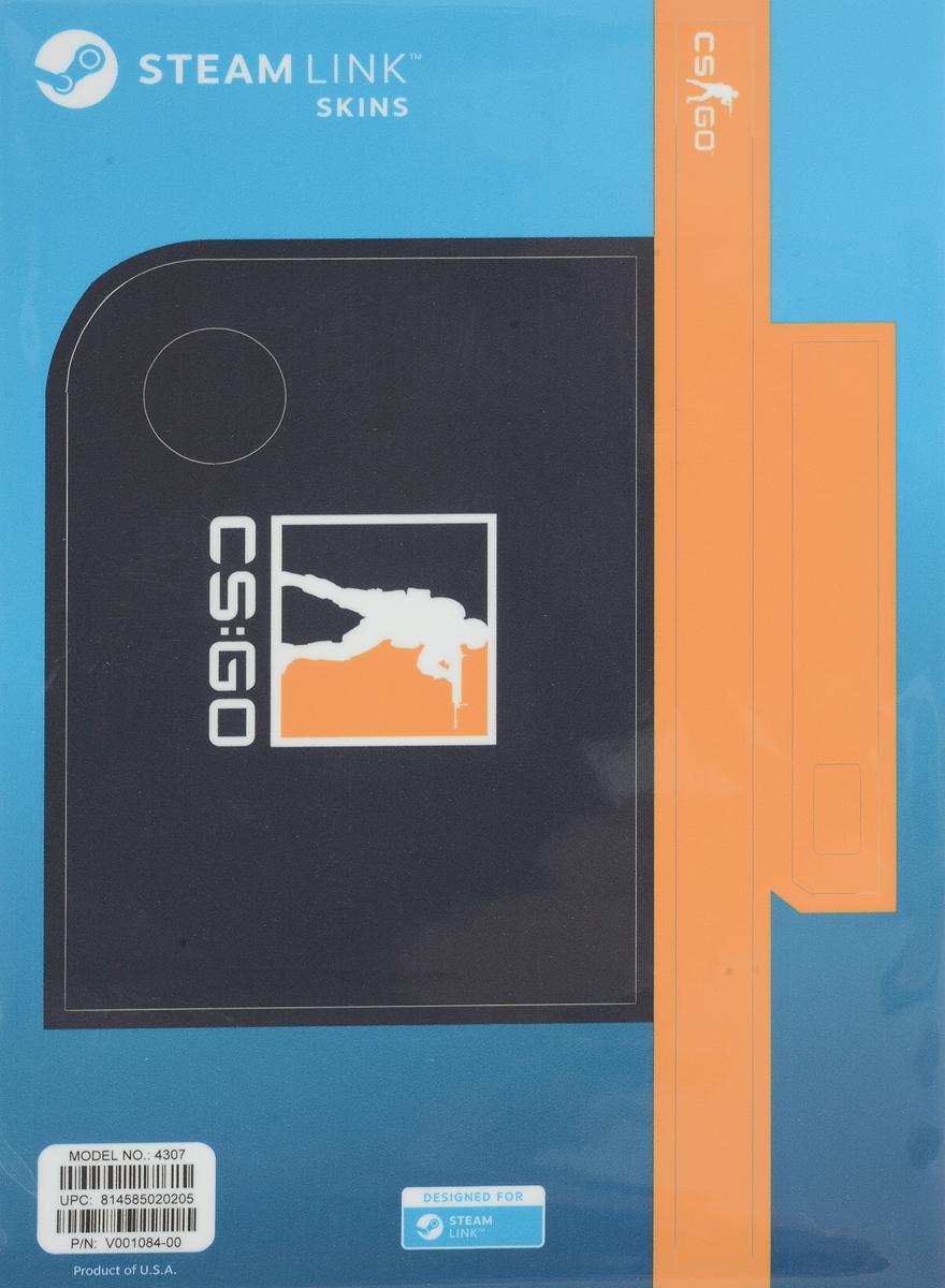 Valve CS:GO, Blue Orange комплект накладок для Steam Link814585020205Возьмите наклейку Steam Link для защиты и придания личного характера вашему устройству! Ее легко наклеить, а также легко удалить, к тому же она отлично подогнана под размер приставки!
