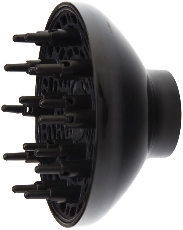 Dewal 03-Dif109/007, Black диффузор для фена03-Dif109/007Диффузор марки Dewal изготовлен из высококачественного термостойкого пластика, который обеспечит его долгую эксплуатацию. Использование диффузора значительно ускоряет процесс сушки и придает дополнительный объем у корней волос. За счет более широкого распределения потока воздуха волосы высыхают быстрее, а температурное влияние на структуру волос снижается.