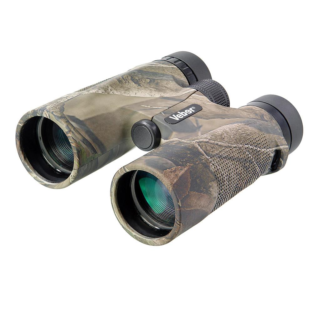 Бинокль Veber Hunter, цвет: камуфляж, 10x4222489Особенность конструкции — двойной мост, предохраняющий оптику от разъюстировки при ударах. С увеличением прибора в 10-крат легко рассмотреть удаленную цель в деталях. Легкий, с нетеряемыми крышками объективов, влагозащищенный, с возможностью смотреть в очках (с диоптриями или стрелковых), удобный в использовании одной рукой. Корпус камуфлированного цвета. ОПИСАНИЕ Этот бинокль спроектирован специально для охотников и учитывает их потребности в оптике, не заставляя переплачивать за «избыточное качество». Особенность бинокля — камуфляжный окрас корпуса. Прибор будет стильным дополнением охотничьего костюма и не станет демаскирующим фактором в лесу или на засидке. Кратность бинокля 10-x. С таким увеличением можно не только обнаружить и сопровождать цель, но и рассматривать ее в деталях. Светильные объективы диаметром 42 мм позволяют использовать бинокль в ближних сумерках. Корпус бинокля выполнен из противоударного (обрезиненного) пластика. Влагозащищенное...