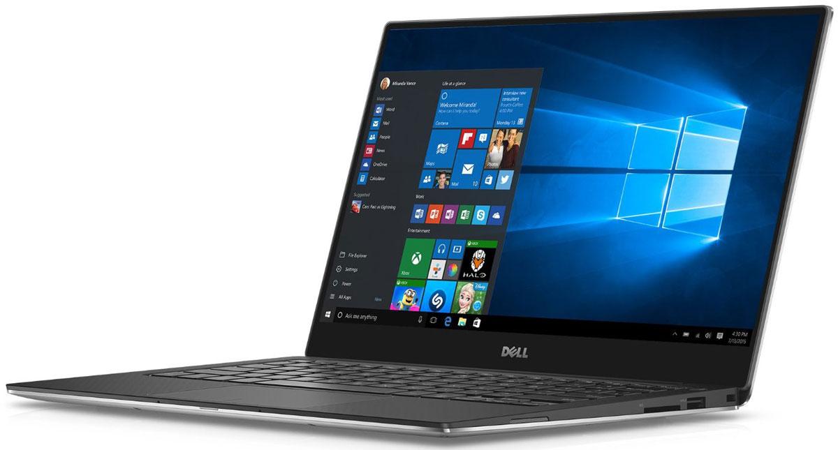 Dell XPS 13 9360-9838, Silver9360-9838Dell XPS 13 - компактный и стильный ноутбук с безрамочным дисплеем.Тонкая лицевая панель монитора увеличивает пространство экрана в этой инновационной конструкции. Трехсторонний, практически безграничный дисплей обладает миниатюрной рамкой шириной всего 5,2 мм - это самая тонкая среди рамок ноутбуков. Благодаря тонкой панели шириной менее 2% от общей поверхности дисплея экран становится значительно больше. Четкое изображение обеспечивается при просмотре практически под любым углом благодаря панели IPS, обеспечивающей широкий угол обзора до 170°.Новый процессор Intel Core i5 обеспечивает высокую скорость запуска, четкость и усовершенствованную графику. Загрузка и возобновление XPS 13 выполняются за считанные секунды благодаря стандартному твердотельному накопителю и технологии Intel Rapid Start.Используйте жесты уменьшения, масштабирования и нажатия с высокой степенью точности: усовершенствованная сенсорная панель обеспечивает точность действий каждый раз, без прыжков и колебаний курсора. Он обеспечивает плавную и быструю горизонтальную прокрутку, уменьшение и увеличение изображения как у сенсорного экрана, с помощью жестов, похожих на те, которые вы использовали на обычном экране. Благодаря функции предотвращения случайной активации больше не будет случайных щелчков при касании сенсорной панели ладонью.Конструкция из механически обработанного алюминия означает, что XPS 13 точно вырезан из единого алюминиевого блока, что обеспечивает прочность и долговечность корпуса. За счет беспрецедентно эффективного потребления электроэнергии этот ноутбук обладает сертификацией ENERGY STAR 6.0. созданный с заботой об окружающей среде, XPS 13 не содержит такие материалы, как свинец, ртуть и некоторые фталаты. Самый экологичный ноутбук в семействе XPS, он также обладает сертификацией EPEAT SILVER и не содержит ПВХ и бромсодержащего антипирена.Точные характеристики зависят от модели.Ноутбук сертифицирован EAC и имеет русифицированную клавиатуру 