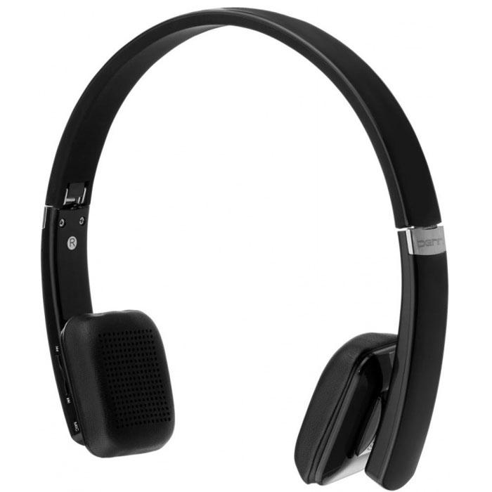 Denn DHB201, Black наушникиDHB201Denn DHB201 - Bluetooth-гарнитура со складывающимся оголовьем и плавающими амбушюрами. Такая компоновка обеспечивает удобство использования. Благодаря мощным излучателям, модель может воспроизводить без помех звуки любой частоты и громкости. Это позволяет сделать голос собеседника максимально чистым и отчетливым. С помощью кнопок, расположенных на корпусе динамика, пользователь может отвечать на звонок, повторять набор последнего номера, а также включать и выключать микрофон. Полного заряда встроенного аккумулятора хватает на 9 часов непрерывного разговора, либо на 200 часов (8 дней) работы в режиме ожидания. Также имеется возможность подключения по кабелю (в комплекте).