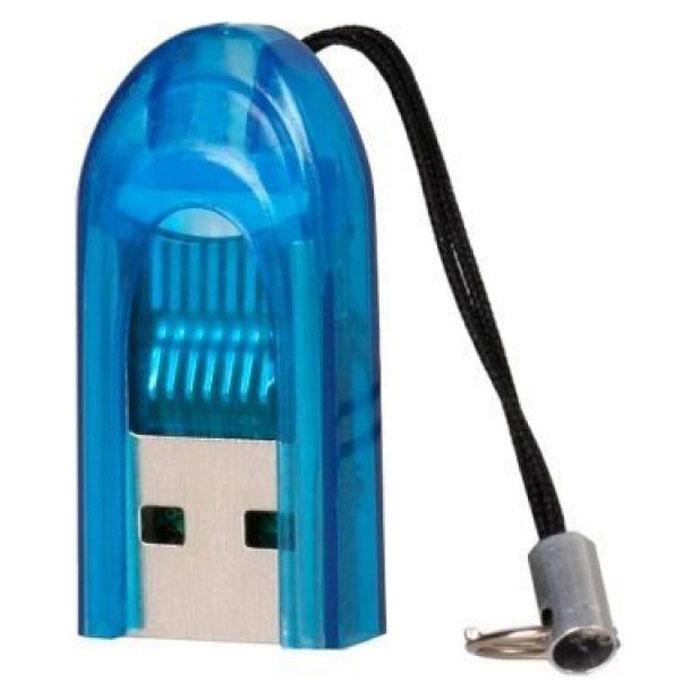Smartbuy SBR-710-B, Blue картридерSBR-710-BSmartbuy SBR-710 - это устройство для чтения и записи данных на поддерживаемые карты памяти. Картридер дает возможность быстро переносить в память компьютера или записывать на карточку такие объемные данные, как фотографии, музыкальные записи, видеоролики. Данная модель подключается к USB порту и совместно с картой памяти может использоваться как внешнее хранилище. Не требует установки дополнительных драйверов.