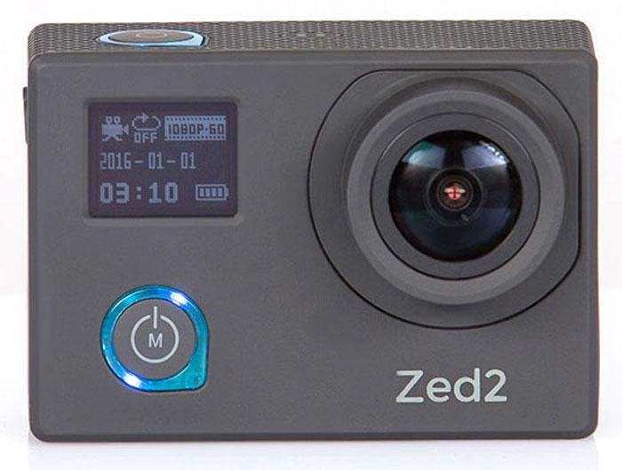 AC-Robin ZED2, Black экшн-камераАК-00000752Компактная, мощная и функциональная экшн-камера AC-Robin ZED2. Обеспечивает максимальное качество видеосъемки на высоких скоростях. Ваша драйвовая экшн-съемка с высококачественным результатом!Аппаратно-программный комплекс гиростабилизации ITG-1010A позволяет делать качественные фото даже на высоких скоростяхв условиях неравномерного движения и нелинейных ускорений.Матрица Sony Exmor-R CMOS имеет высокое разрешение и позволяет проводить видеосъемку в максимальном качестве, при этом достигая яркого и высококонтрастного изображения с минимальным уровнем шума. Благодаря своему строению, матрица Exmor-R CMOS имеет высокую светочувствительность, значительно превосходя аналоги по качеству съемки.Два дисплея: OLED 0,66 (64х48) и LCD 2,0 (640х480). Разный уровень яркости дисплеев позволяет легко подстраиваться под окружающие условия иснимать даже при ярком солнце.Все великолепие подводного мира теперь можно запечатлеть. Дайвинг режим обеспечивает компенсацию провала красного при подводной съемке.Все программное обеспечение камеры на русском языке - вы быстро найдете общий язык с AC Robin ZED2 и легко сможете управлять ею.