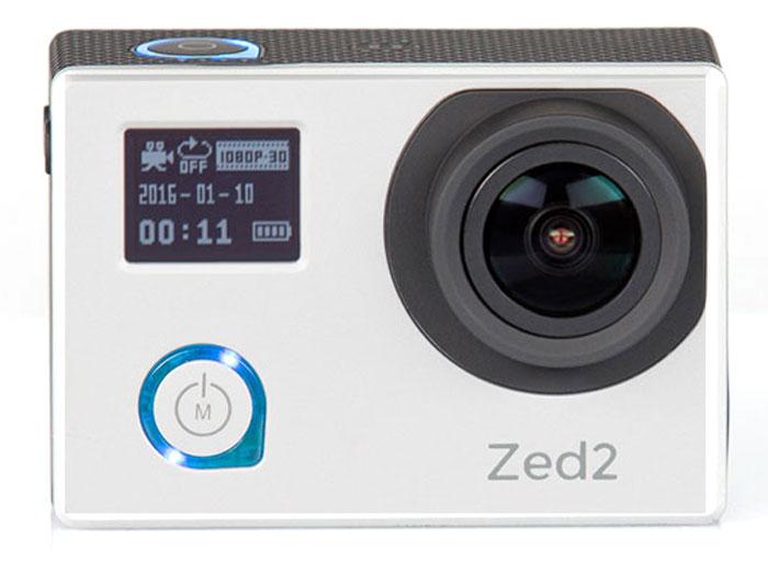 AC-Robin ZED2, Silver экшн-камераАК-00000753Компактная, мощная и функциональная экшн-камера AC-Robin ZED2. Обеспечивает максимальное качество видеосъемки на высоких скоростях. Ваша драйвовая экшн-съемка с высококачественным результатом! Аппаратно-программный комплекс гиростабилизации ITG-1010A позволяет делать качественные фото даже на высоких скоростях в условиях неравномерного движения и нелинейных ускорений. Матрица Sony Exmor-R CMOS имеет высокое разрешение и позволяет проводить видеосъемку в максимальном качестве, при этом достигая яркого и высококонтрастного изображения с минимальным уровнем шума. Благодаря своему строению, матрица Exmor-R CMOS имеет высокую светочувствительность, значительно превосходя аналоги по качеству съемки. Два дисплея: OLED 0,66 (64х48) и LCD 2,0 (640х480). Разный уровень яркости дисплеев позволяет легко подстраиваться под окружающие условия и снимать даже при ярком солнце. Все великолепие подводного мира теперь можно запечатлеть. Дайвинг...