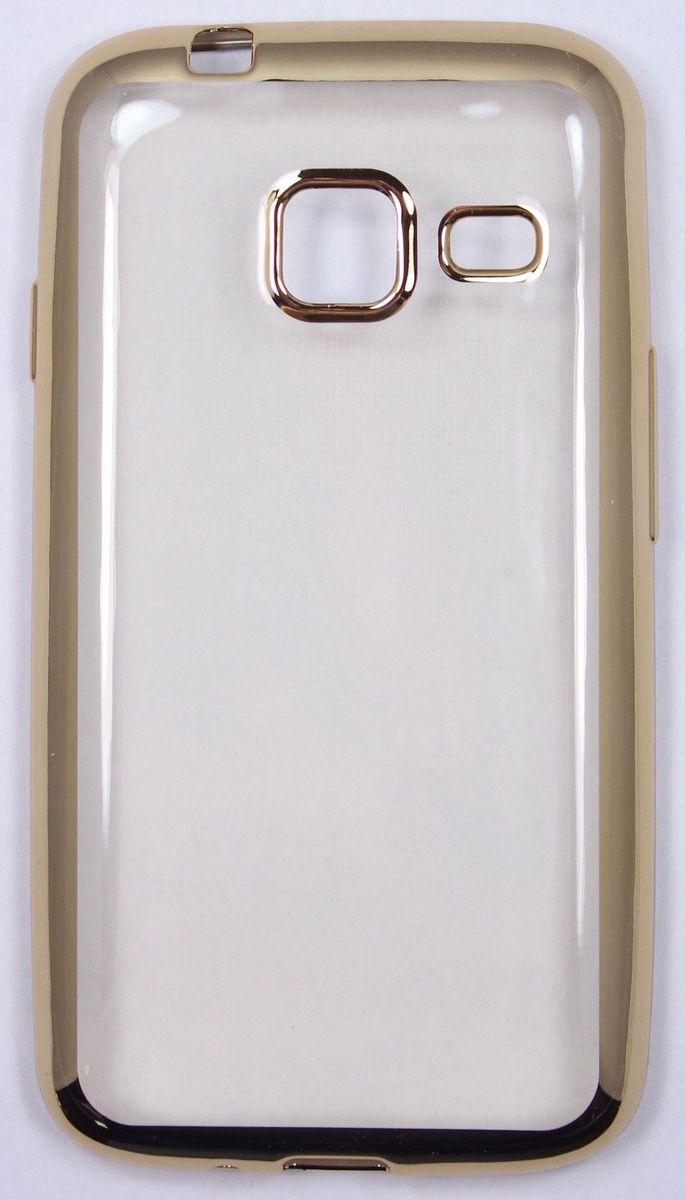 Red Line iBox Blaze чехол для Samsung Galaxy J1 mini (2016), GoldУТ000009697Практичный и тонкий силиконовый чехол Red Line iBox Blaze для Samsung Galaxy J1 mini (2016) с эффектом металлических граней защищает телефон от царапин, ударов и других повреждений. Чехол изготовлен из высококачественного материала, плотно облегает смартфон и имеет все необходимые технологические отверстия, соответствующие модели телефона. Силиконовый чехол Red Line iBox Blaze долгое время сохраняет свою первоначальную форму и не растягивается на смартфоне.