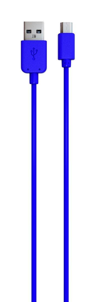 Red Line кабель USB-microUSB, Blue (1 м)УТ000009490Дата-кабель Red Line позволяет подключить планшет, смартфон, электронную читалку и прочие мобильные устройства с разъемом microUSB к порту USB на компьютере для синхронизации и зарядки. Кроме того, его можно подключить к адаптеру питания USB, чтобы зарядить устройство от розетки.