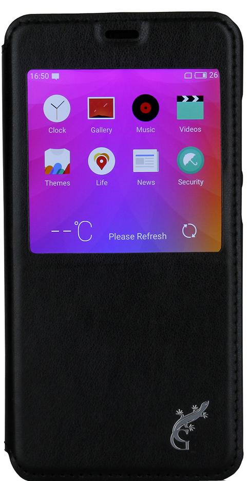 G-Case Slim Premium чехол для Meizu U10, BlackGG-752Чехол-книжка G-Case Slim Premium для Meizu U10 c окошком надежно защитит ваш смартфон от пыли, грязи, царапин, оставив при этом свободный доступ ко всем разъемам устройства. Также имеется возможность использования чехла в виде настольной подставки. Чехол G-Case Slim Premium - это стильная и элегантная деталь вашего образа, которая всегда обращает на себя внимание среди множества вещей.