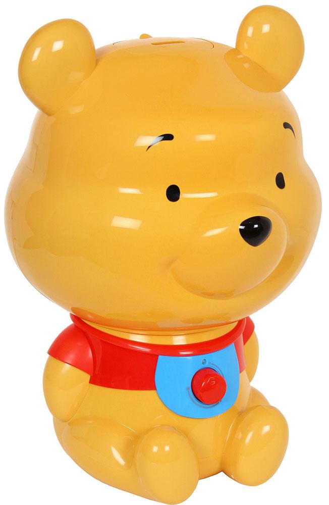 Ballu UHB-270 Winnie Pooh увлажнитель воздухаНС-1075711Увлажнитель воздуха Ballu UHB-270 Winnie Pooh знакомит малышей с другим всемирно известным, всеми любимым и никогда не стареющим персонажем - Медвежонком Винни. Этот прибор подарит множество радостных моментов детям и их родителям, сохранит здоровый микроклимат и будет поддерживать оптимальный уровень влажности в доме. В отопительный период влажность воздуха в помещениях существенно ниже нормы (40-60%). Сухой воздух способствует распространению вирусных заболеваний (ОРВИ) у детей и взрослых, приводит к повышению утомляемости и нарушению сна. Сухой воздух сушит слизистые и может стать причиной рези в глазах и головной боли. Для создания и поддержания комфортного микроклимата применяются увлажнители воздуха. Индикация низкого уровня воды Регулировка интенсивности увлажнения Складная ручка для переноски резервуара