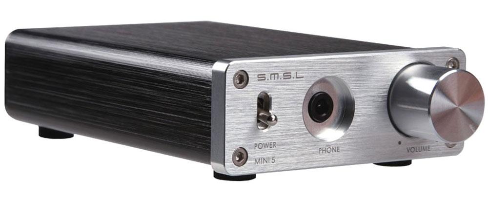 SMSL Mini 5, Silver усилитель для наушников