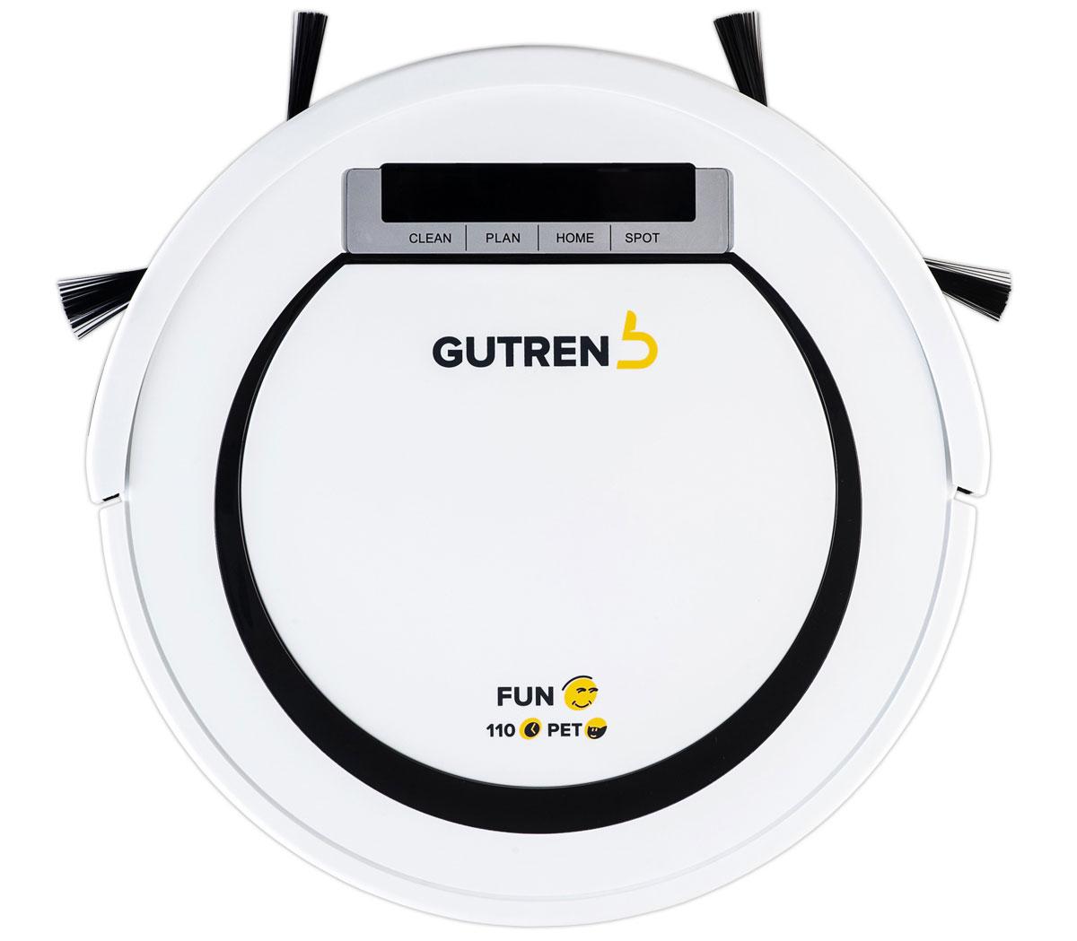 Gutrend Fun 110 Pet, White Black робот-пылесос