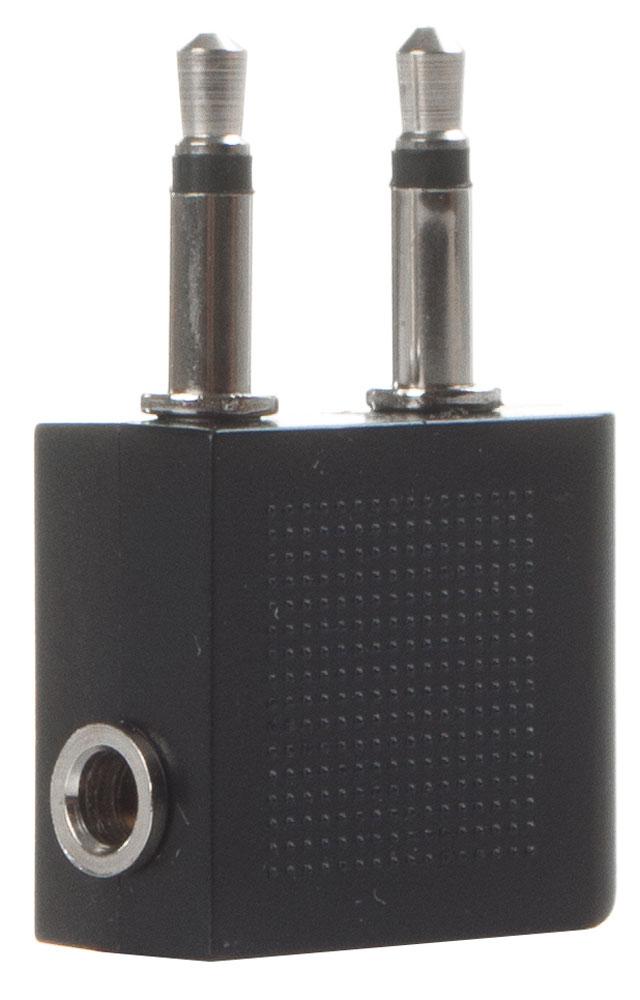 OLTO AC-100, Black переходник-адаптер для самолетаO00001224Адаптер OLTO AC-100 специально предназначен для подключения наушников в самолете. Использование этого переходника даст вам возможность слушать музыку или смотреть видео с помощью собственных наушников. Чтобы воспользоваться наушниками, необходимо подключить их к переходнику и специальному разъему, который находится на спинке кресла.