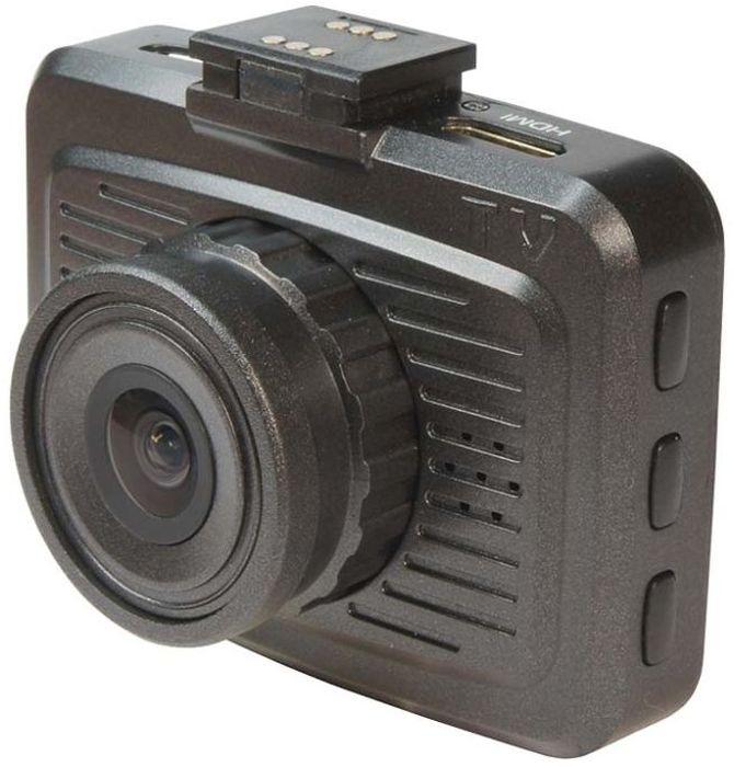 TrendVision TDR-200, Black видеорегистраторTDR-200Автомобильный видеорегистратор TrendVision TDR-200 имеет миниатюрный корпус, и оригинальную систему крепления и питания. Разъем питания находится не в регистраторе, а в миниатюрном кронштейне. Причем разъемы есть и с правой, и с левой стороны. Кронштейн и регистратор имеют группу контактов, через которые передается питание. С учетом магнитного крепления и питания через кронштейн, установка/снятие регистратора занимает мгновения и производится одной рукой. А миниатюрные размеры и отсутствие питающего кабеля позволяют достаточно скрытно разместить видеорегистратор за шелкографией или за тонировочной полосой вверху лобового стекла. Еще одна особенность TrendVision TDR-200 - наличие 2-х слотов под карты памяти microSD, поддержка карт 128 ГБ. Причем осуществляется последовательная перезапись. При заполнении одной карты памяти, запись переключается на другую. Таким образом, при использовании 2-х карт 128 ГБ, можно получить архив около 48 часов высококачественного...