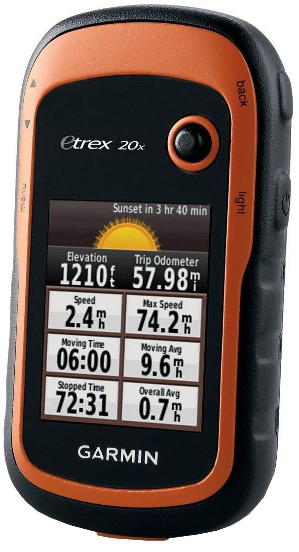 Garmin eTrex20, Brown Black навигатор