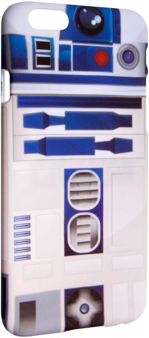 Disney Лукас Р2Д2 чехол для Aple iPhone 64627104421911Чехол Disney Лукас Р2Д2 для Apple iPhone 6 - случай редкого сочетания яркости и чувства мерь. Это стильная и элегантная деталь вашего образа, которая всегда обращает на себя внимание среди множества вещей. Чехол надежно защитит ваш смартфон от внешних воздействий, грязи, пыли, брызг. Он также поможет при ударах и падениях, не позволив образоваться на корпусе царапинам и потертостям. Чехол обеспечивает свободный доступ ко всем функциональным кнопкам смартфона и камере.