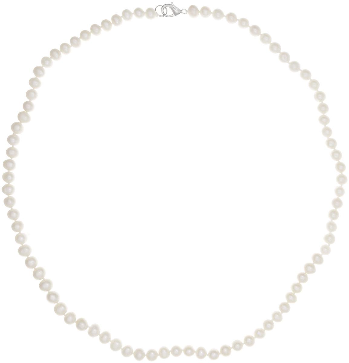 Бусы Art-Silver, цвет: белый, длина 50 см. КЖб8-9-50-533КЖб8-9-50-533Бусы Art-Silver выполнены из культивированного жемчуга, нанизанного на текстильную нить. Украшение имеет удобный замок-карабин из бижутерного сплава. Мелкие бусины диаметром 5-7 мм из натурального культивированного жемчуга нежно-бежевого цвета имеют слегка неоднородную форму, что подчеркивает естественное происхождение жемчужин. Благородный перламутровый блеск жемчуга подчеркнет вашу элегантность и превосходный вкус.