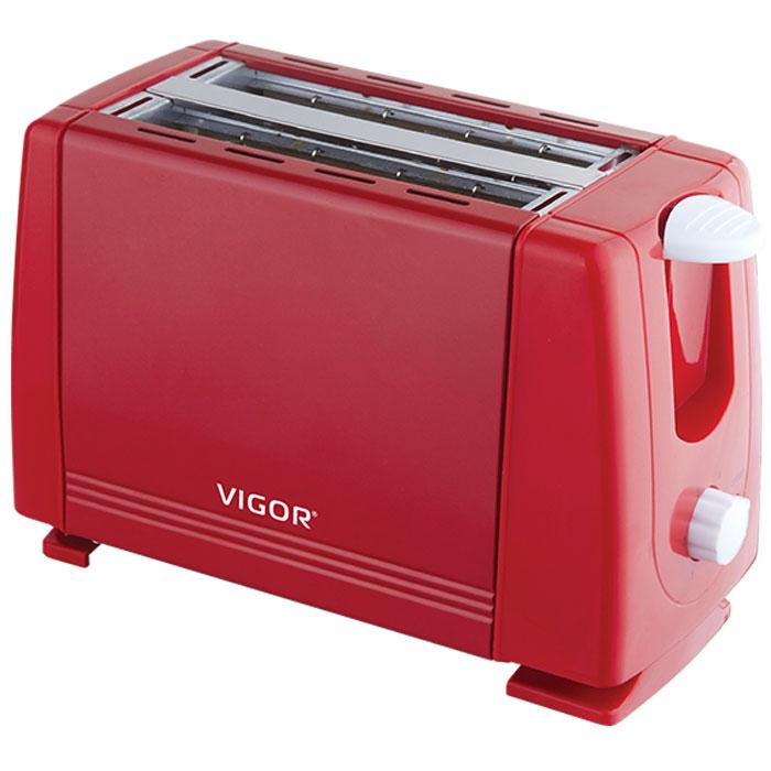 Vigor HX-6017, Red тостер тостер ariete 186 party time red