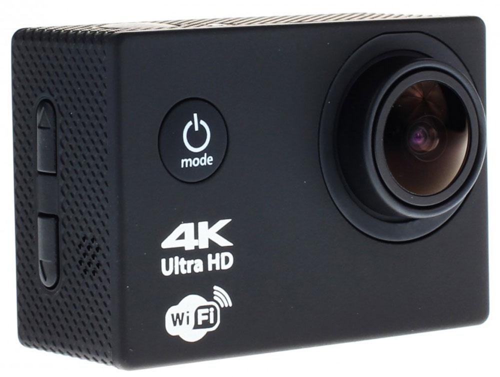 Prolike 4K PLAC001BK, Black экшн-камера6928431230275Экшн-камера Prolike 4K - это маленькая эргономичная видеокамера, созданная специально для спортсменов-экстремалов, мечтающих снять на видео самые яркие моменты своих приключений.Обычная видеокамера не выдерживает сложных условий съемки, скорости, перепадов температур, тогда как экшн-камера Prolike 4K благодаря конструктивным особенностям и техническим характеристикам легко справляется с этими задачами.Важным преимуществом камеры является маленький вес и миниатюрные габариты, способствующие фиксации устройства на теле спортсмена, не стесняя свободы движений. Для установки камеры предусмотрены дополнительные аксессуары и крепления, которыми комплектуется камера.Прочность и надежность при высоких нагрузках обеспечивает влагозащитный и противоударный корпус камеры, а дополнительный защитный аквабокс предназначен для подводных съемок.