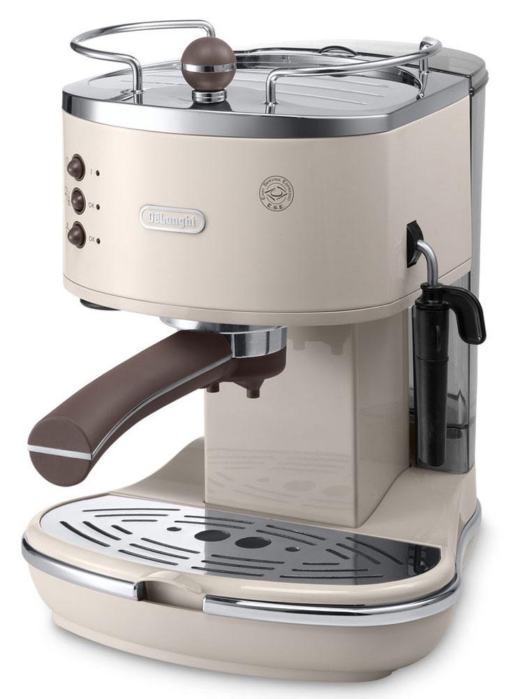 DeLonghi Icona Vintage ECOV311, Beige рожковая кофеварка