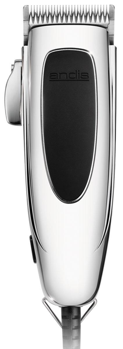 Andis Trendsetter машинка для стрижки волос24100 PM-4Триммер Andis Trendsetter оснащен бритвенной головкой из нержавеющей стали. Плавная регулировка длины стрижки осуществляется при помощи девяти насадок 1.5, 3, 6, 10, 13, 16, 19, 22, 25 мм, идущих в комплекте с устройством. Прибор имеет современный и эргономичный дизайн. Красивую и модную прическу теперь можно сделать не только в парикмахерской, но и дома.