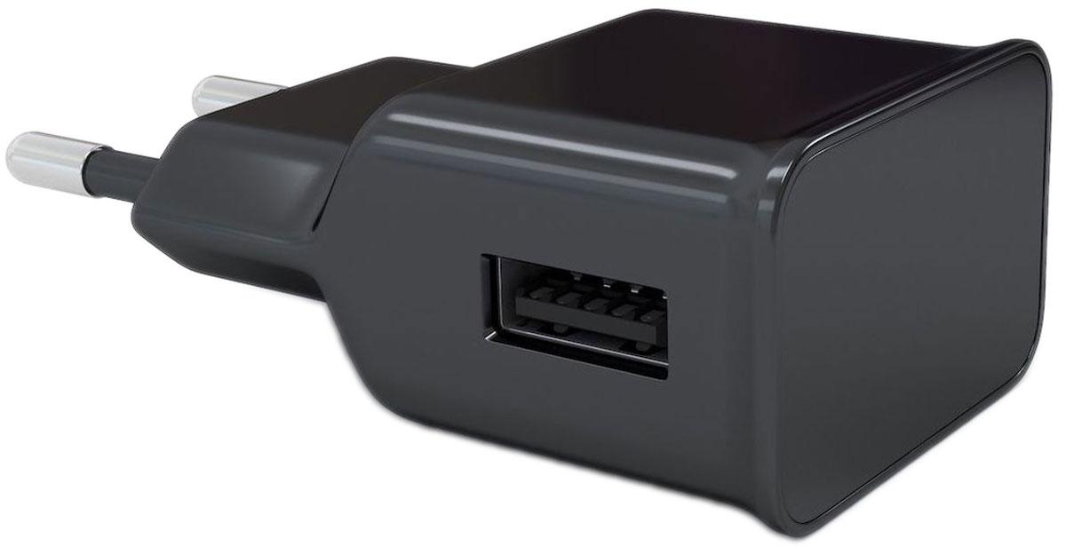 Red Line NT-1A, Black сетевое зарядное устройствоУТ000009407Устройство Red Line NT-1A предназначено для зарядки и питания мобильного устройства от бытовой сети переменного тока. Подходит для розеток европейского стандарта, тем самым устройство можно подключить к большинству розеток. Вы можете заряжать любые устройства, совместимые с выходным током зарядки до 1А и напряжением 5В.