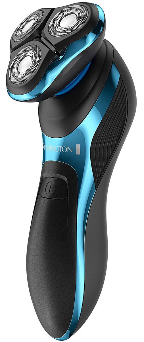Remington XR 1470 HyperFlex Aqua Pro электробритваXR 1470HyperFlex Aqua Pro - самая продвинутая роторная бритва от Remington. Особые лезвия ComfortFloat, с независимым движением головок вверх и вниз, созданы для максимального захвата волосков под любым углом. Для наиболее сложных областей, бритва обладает режимом турбо, который значительно увеличивает мощность и позволяет с легкостью осуществить бритье. Революционная технология HyperFlex и лезвия ComfortFloat Cutters способствуют максимальной адаптации бритвы к контурам лица и шеи для 100% охвата. Антибактериальное покрытие бреющих головок снижает раздражение и защищает чувствительную кожу. Бритва 100% водонепроницаемая и обеспечивает лучший результат как при сухом, так и при влажном бритье с применением гелей и средств для бритья. Интеллектуальная система блокировки бритвы идеально подходит для путешествий и запоминает последний выбранный режим бритья. Если вы спешите и вам требуется бритье, функция быстрой зарядки за пять...
