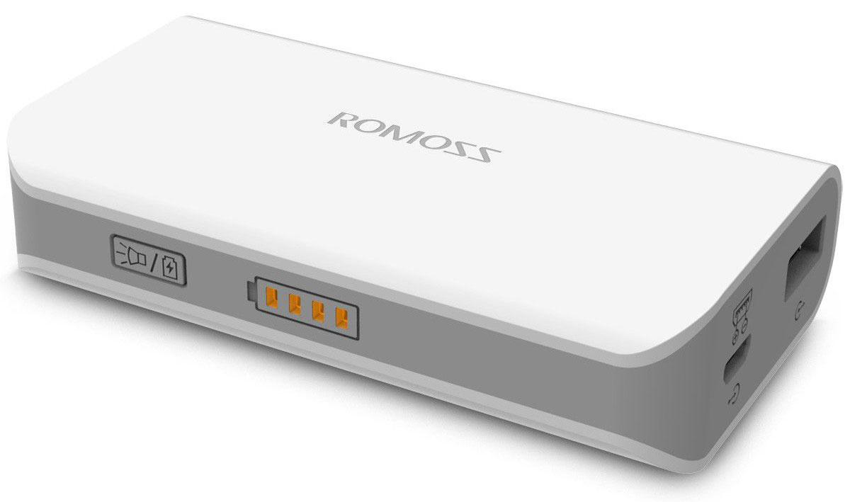 Romoss Solo 2, White внешний аккумуляторSolo 2Легкий, стильный и мощный внешний аккумулятор Romoss Solo 2 легко ложится в руку. Вы и представить себе не могли, как легко и незаметно можно заряжать телефон во время походов по магазинам или прогулок на воздухе. Разработанный на основе технологии FitCharge, Romoss Solo 2 полностью совместим с широким спектром планшетов, смартфонов, МР3- и МР4-плееров и других мобильных устройств. Передовая технология Fitcharge позволяет автоматически определять входной ток различных устройств и другие требования при зарядке, обеспечивая улучшенную совместимость. Встроенный выход на 2,1 А позволяет заряжать ваши устройства быстрее, чем это было возможно ранее. Внешний аккумулятор также снабжен защитной системой, поэтому вы можете не волноваться при быстрой зарядке. Встроенный вход на 2,1А обеспечивает полную зарядку внешнего аккумулятора всего за 2,5 часа при помощи iCharger 12 (блок питания на 2,1А). Электроника устройства снабжена...