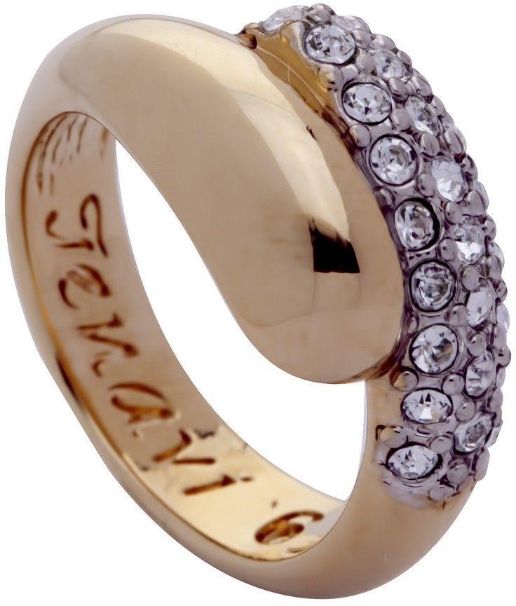 Кольцо Jenavi Озон. Литела, цвет: золотой, белый. j947q000. Размер 18j947q000-18Изящное кольцо Jenavi из коллекции Озон. Литела изготовлено из ювелирного сплава с покрытием из родированной позолоты. Изделие выполнено в необычном дизайне и дополнено кристаллами Swarovski. Стильное кольцо придаст вашему образу изюминку, подчеркнет индивидуальность.