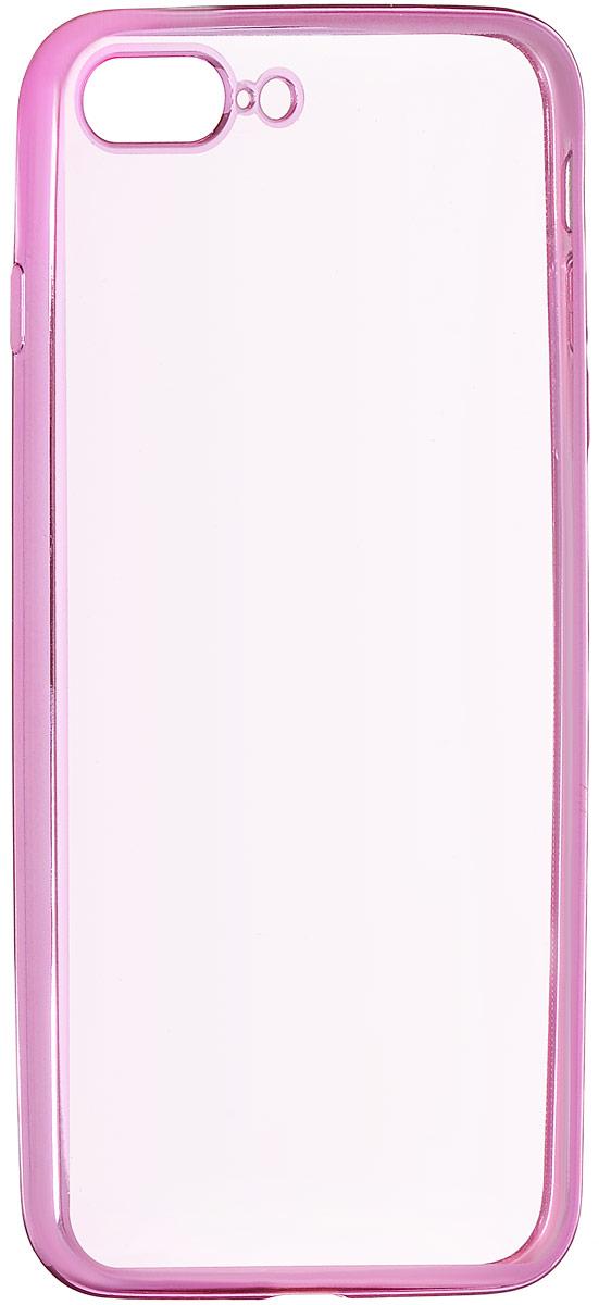 Red Line iBox Blaze чехол для iPhone 7 Plus, PinkУТ000009721Практичный и тонкий силиконовый чехол Red Line iBox Blaze для iPhone 7 Plus с эффектом металлических граней защищает телефон от царапин, ударов и других повреждений. Чехол изготовлен из высококачественного материала, плотно облегает смартфон и имеет все необходимые технологические отверстия, соответствующие модели телефона. Силиконовый чехол Red Line iBox Blaze долгое время сохраняет свою первоначальную форму и не растягивается на смартфоне.