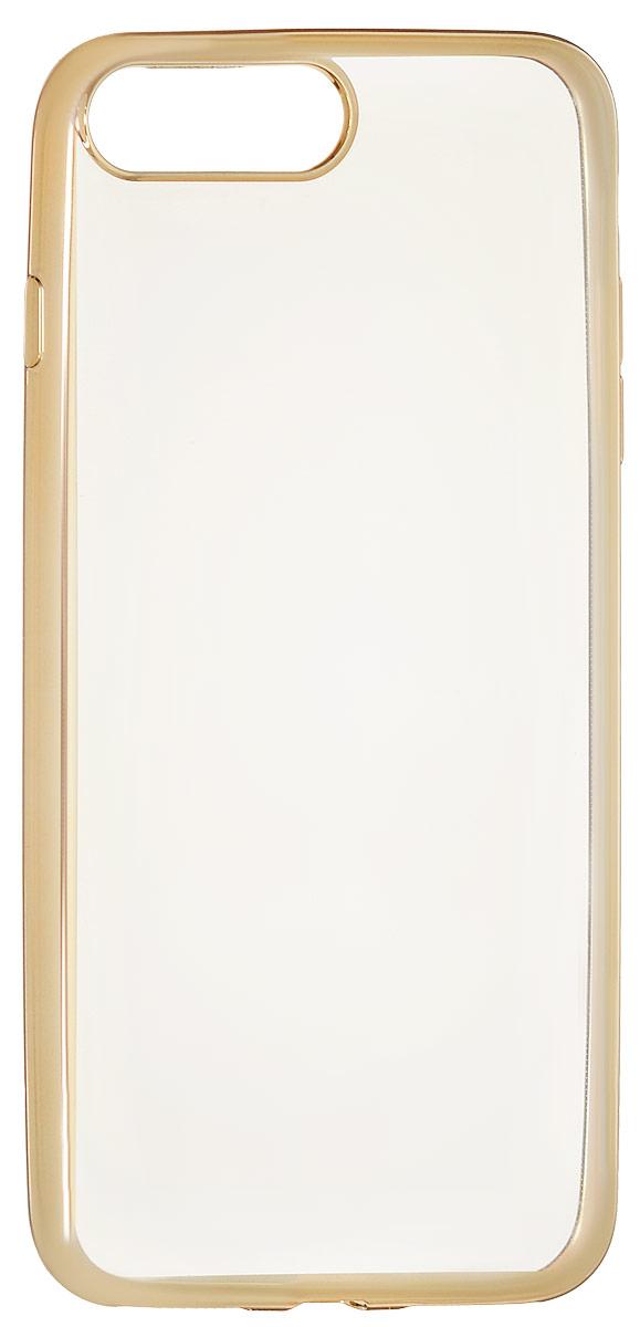 Red Line iBox Blaze чехол для iPhone 7 Plus, GoldУТ000009720Практичный и тонкий силиконовый чехол Red Line iBox Blaze для iPhone 7 Plus с эффектом металлических граней защищает телефон от царапин, ударов и других повреждений. Чехол изготовлен из высококачественного материала, плотно облегает смартфон и имеет все необходимые технологические отверстия, соответствующие модели телефона. Силиконовый чехол Red Line iBox Blaze долгое время сохраняет свою первоначальную форму и не растягивается на смартфоне.