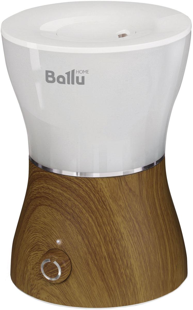 Ballu UHB-400, Oak ультразвуковой увлажнитель воздухаНС-1031480Ультразвуковой увлажнитель воздуха Ballu UHB-400 обеспечивает мягкое увлажнение и способствует созданию благоприятного микроклимата в доме. Плавные формы, удобное и интуитивно понятное управление. Исполнение прибора в текстуре под дерево подчеркивает идею гармоничного сосуществования высоких технологий и природы, и гармонично сочетается с мебелью в доме. Прибор удобен в эксплуатации - для увлажнения можно заливать водопроводную воду. Благодаря входящему в комплект фильтру-картриджу вода очищается от излишков солей жесткости. Аромакапсула позволит насытить воздух в помещении любимым ароматом. Мягкая подсветка бака позволяет использовать увлажнитель в качестве ночника.